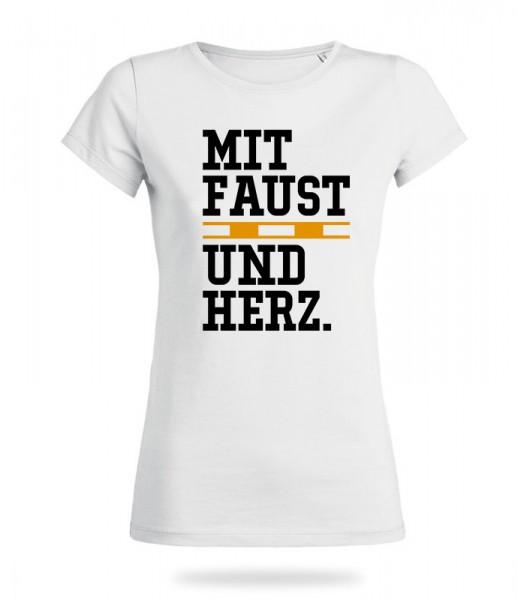 Faustball Herz Shirt Mädels