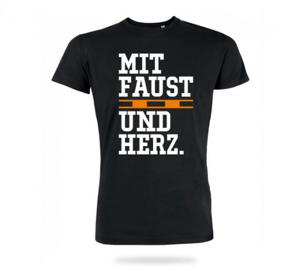 Faustball Herz Shirt Jungs